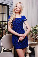 Изысканное женское платье IR Софи  цвета: мята | электрик | белый