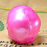 Череп человека декоративный розовый гипсовый, фото 4