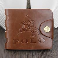 Кожаный кошелек Polo Акция