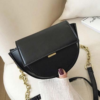 Шикарна маленька жіноча сумочка - чорна