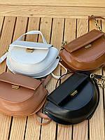 Шикарна маленька жіноча сумочка - чорна, фото 3