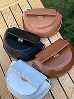 Шикарна маленька жіноча сумочка - чорна, фото 4
