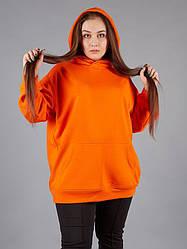 Жіноче худі з капюшоном великих розмірів
