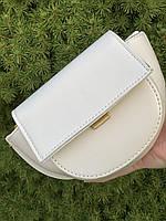 Шикарна маленька жіноча сумочка - Біла, фото 4