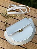 Шикарна маленька жіноча сумочка - Біла, фото 5