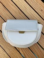 Шикарна маленька жіноча сумочка - Біла, фото 6