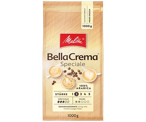Кофе MELITTA BellaCrema Speciale в зернах 1000 г