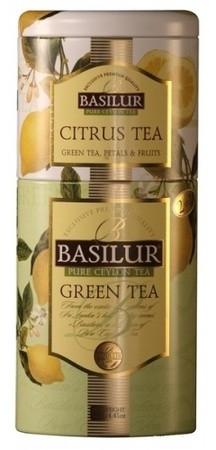 Зелёный чай Basilur и Цитрус ж/б 125 г