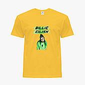 Детская футболка для девочек Билли Айлиш (Billie Eilish) (25186-1207) Желтый