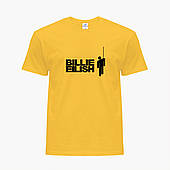 Детская футболка для девочек Билли Айлиш (Billie Eilish) (25186-1211) Желтый