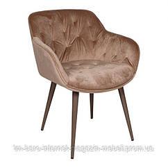Кресло VIENA (60*63*77,5 cm текстиль) бежевый, Nicolas