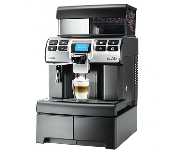 Кофемашина Saeco Aulika Top High Speed Cappuccino V2 Black (RI9846/30)