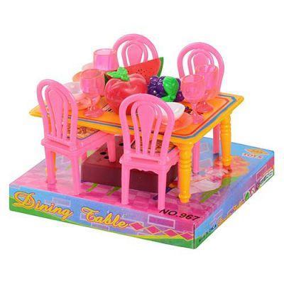Столовая 967 стол, 4 стула 14 см