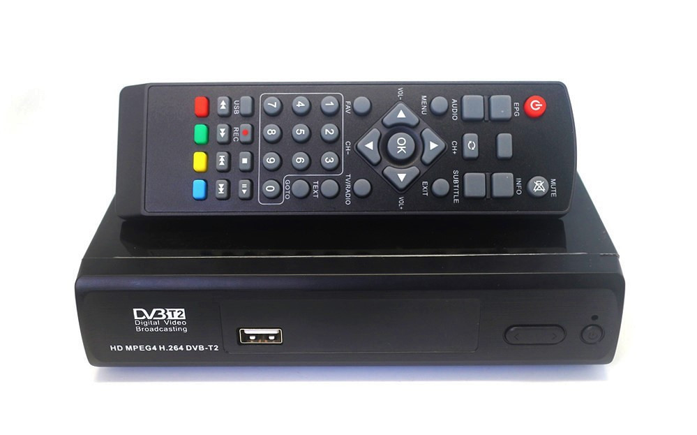 Цифровой ресивер DVB T2 Megogo тюнер