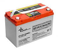 Гелевий акумулятор Weekender 100Ah 12V c дисплеєм, фото 1