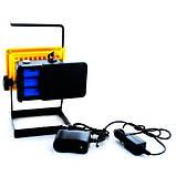 Светодиодный ручной фонарь - прожектор Bailong BL-204 (3 режима) 30W, фото 3