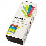 Портативная зарядка с Power Bank 3 в 1 Power Jam салатовая, фото 2