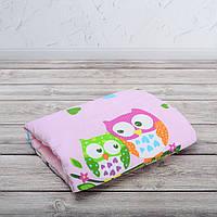 Подушка для кормления и укачивания новорожденных, на руку - совы