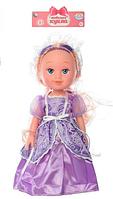 A TONGDE Кукла 17099 в фиолетовом платье для девочки на батарейках