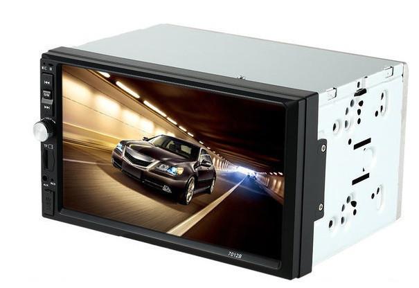 Автомобільна магнітола MP5 2DIN 7012 Little USB з рамкою,USB+Bluetoth+Камера