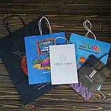 Бумажные крафт пакеты с крученой ручкой, фото 7