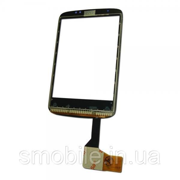 HTC Сенсорный экран HTC Wildfire A3333 черный, с микросхемой
