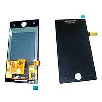 Samsung Дисплей Samsung i8700 Omnia 7 с сенсором, черный (оригинал)