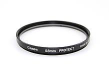 Светофильтр Canon Filter 58 mm Protect UV б/у / в магазине