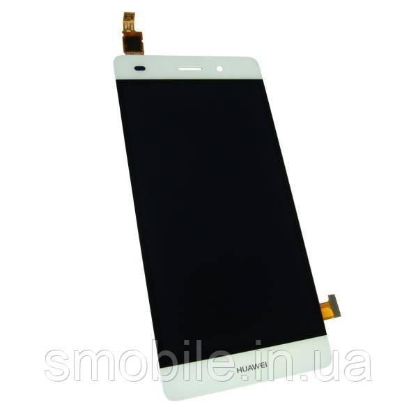 Huawei Дисплей Huawei P8 Lite 2015 с сенсором, белый (оригинальные комплектующие)