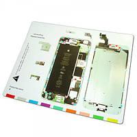 Оборудование Магнитный коврик под iPhone 6 Plus (для раскладки винтов и деталей при разборке)
