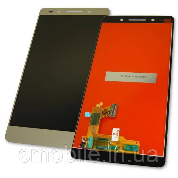 Huawei Дисплей Huawei Honor 7 PLK-L01 с сенсором, золотистый (оригинальные комплектующие)