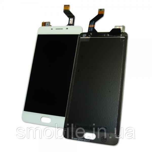 Meizu Дисплей Meizu M6 Note M721L с сенсором, белый (оригинал Китай)