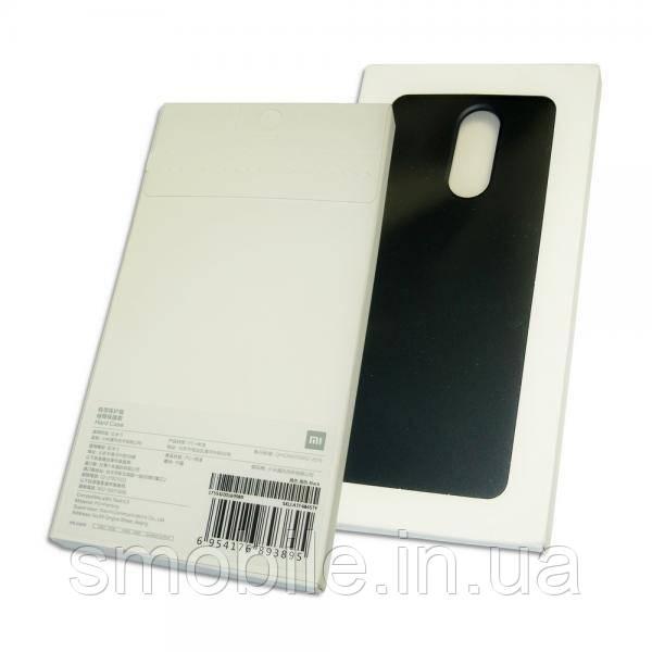 Xiaomi Чехол ударостойкий для Xiaomi Redmi 5 пластик софт тач черный (оригинал)