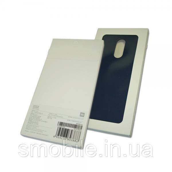 Xiaomi Чехол ударостойкий для Xiaomi Redmi 5 пластик софт тач синий (оригинал)