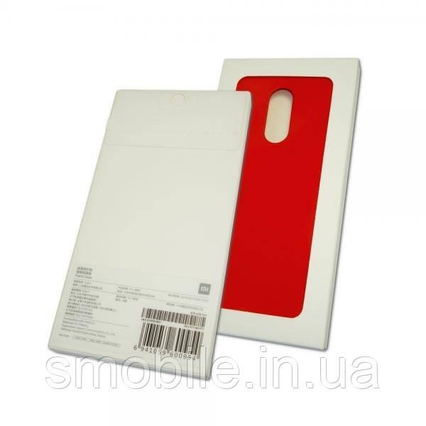 Xiaomi Чехол ударостойкий для Xiaomi Redmi 5 пластик софт тач красный (оригинал)