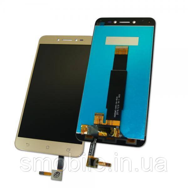 Asus Дисплей Asus ZenFone Live ZB501KL с сенсором, золотистый (оригинальные комплектующие)