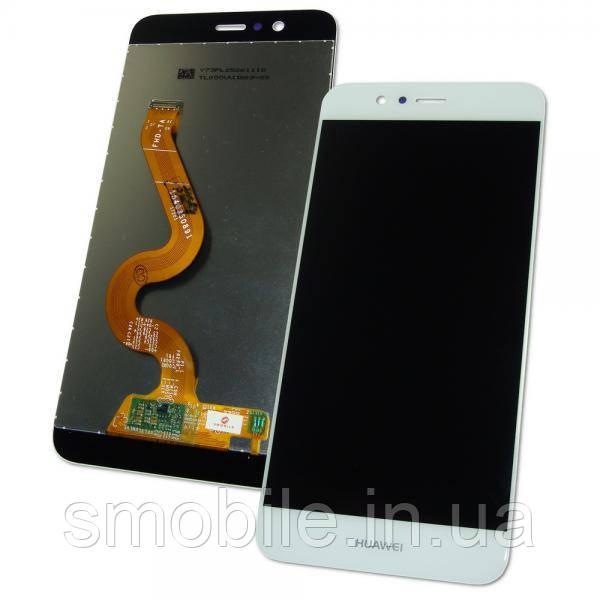 Huawei Дисплей Huawei Nova 2 Plus с сенсором, белый (оригинальные комплектующие)
