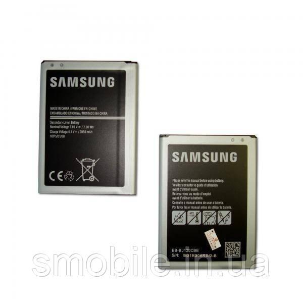 Samsung Аккумуляторная батарея Samsung J120 Galaxy J1 (2016) (2050mAh 3.85V 7.9Wh) (оригинал Китай)