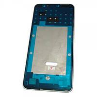 Huawei Рамка дисплея с подложкой Huawei P Smart белая (оригинал Китай)
