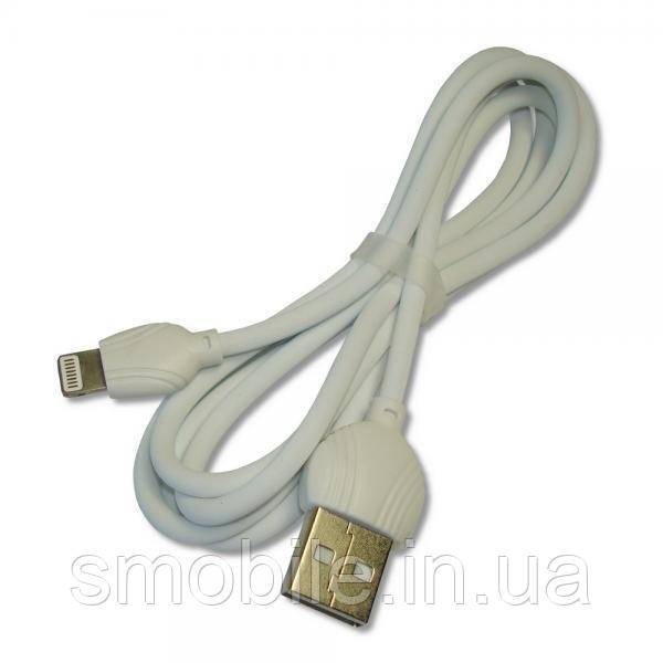 XO Lightning кабель зарядки и синхронизации XO NB32 Beatles для iPhone iPad iPod белый (1000 мм)