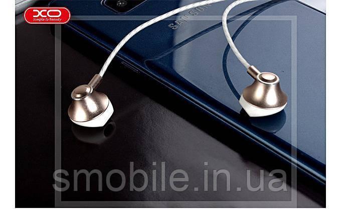 XO Наушники XO S23 In-Ear with Mic золотистые