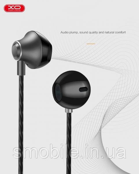 XO Наушники XO S23 In-Ear with Mic серый космос