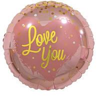 "Круг "" Love you"" 18""(45cm) new"