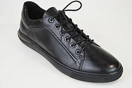 Кросівки повсякденні Kadar 3420449 Чорні шкіра