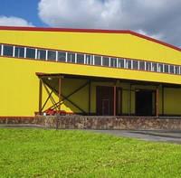 Промышленные здания из металлоконструкций