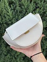 Шикарна маленька жіноча сумочка - Біла, фото 7
