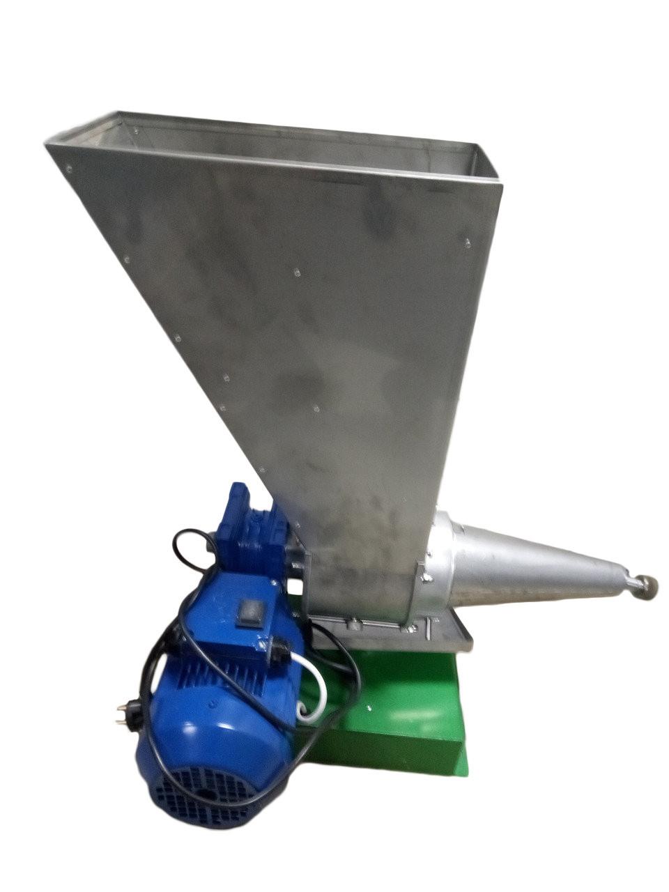 Шнековий соковитискач для томатів з редуктором з нержавійки СШ -1 220В прес виноградний