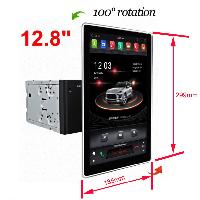 """Магнитола Android KLYDE 1280, 12.8"""" экран., фото 1"""