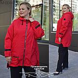 Куртка женская наполнитель синтепон 100 размеры 50 52 54 56 58 60 62, фото 4