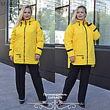 Куртка женская наполнитель синтепон 100 размеры 50 52 54 56 58 60 62, фото 7